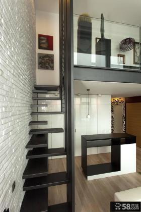 时尚风格loft楼梯设计