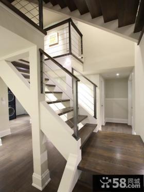 现代家装复式楼梯图片大全