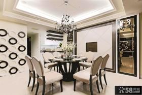 现代风格设计餐厅吊顶图片欣赏