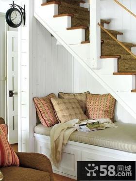 阁楼楼梯设计图片
