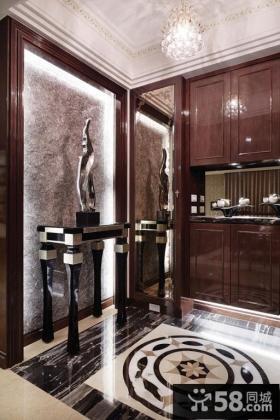 古典风格家居玄关设计图片