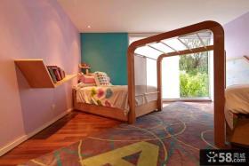 简约儿童房卧室装修图片