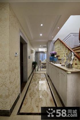 复式家装玄关设计案例