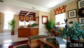 客厅实木家具图片