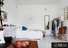 35平米小户型装修图 小卧室装修效果图
