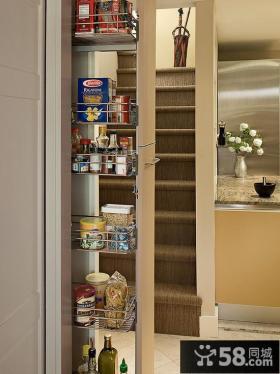 厨房橱柜拉篮图片欣赏