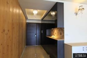 现代家庭装修室内进门玄关图片大全