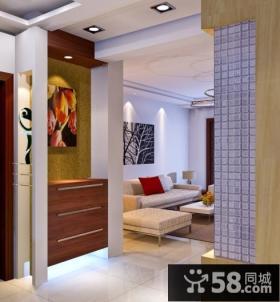 现代客厅玄关装修效果图大全2013图片
