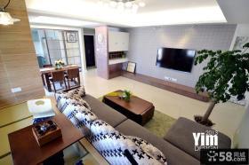 现代风格客厅电视墙颜色效果图