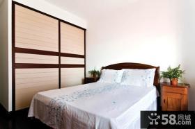 新中式卧室装修效果图大全2013图片
