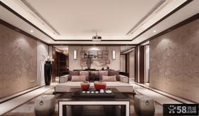 豪华中式现代风格别墅装饰效果图