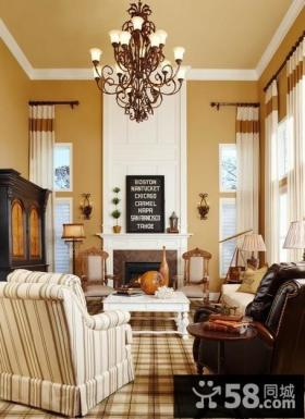 家装客厅吊顶装修效果图大全2013图片