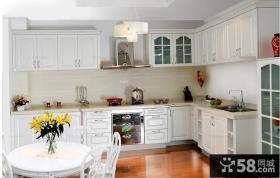 欧式风格开放厨房装修效果图