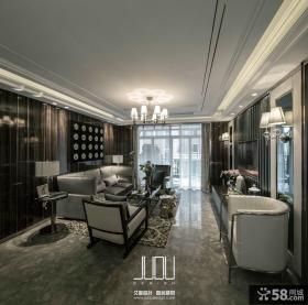 美式新古典风格三居室图片欣赏