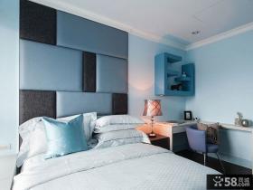 美式简约男儿童房间布置图片