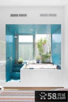 别致的复式楼厕所装修效果图