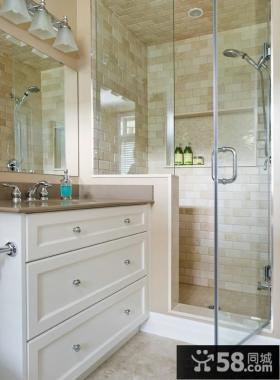 简约高档设计卫生间图片