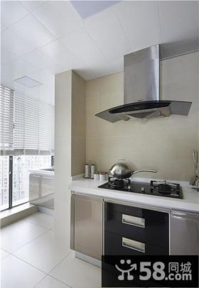 简约风格北欧厨房设计图片