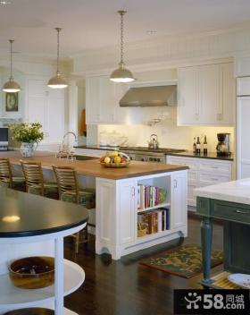 家居一体式厨房装修效果图片欣赏
