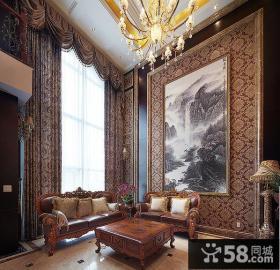 大气古典欧式客厅装饰装潢