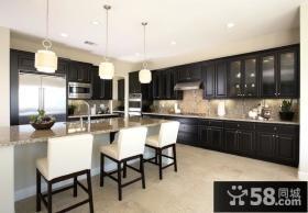 130平欧式风格厨房装修效果图大全2013图片