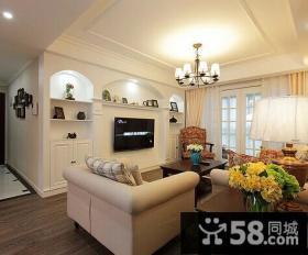 现代简约风格小户型客厅装修效果图片欣赏