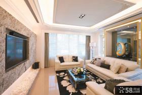 现代豪宅别墅设计装饰效果图