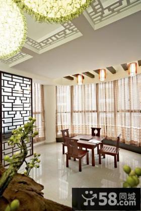 中式家居阳台设计
