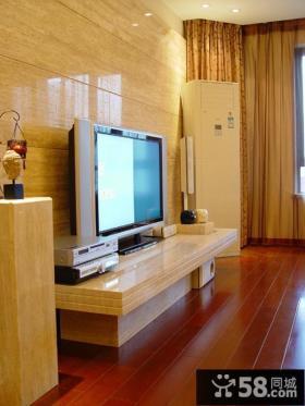 2013简约客厅瓷砖电视背景墙装修效果图