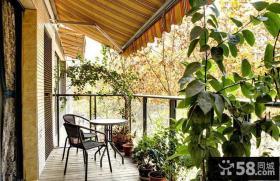 家庭装修设计阳台图片欣赏大全