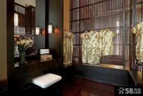 中式豪华室内衣柜图片欣赏大全