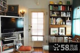 轻装修重装饰的美式一居住宅