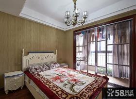 简美式卧室装潢大全
