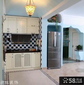 地中海风格厨房橱柜装修设计