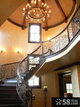 家装别墅楼梯设计效果图