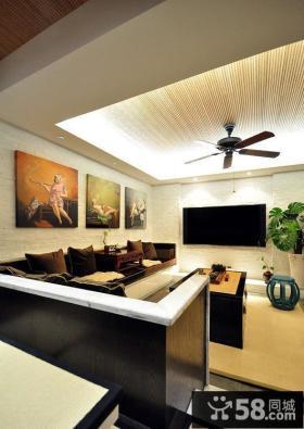古典中式三居客厅设计装修效果图