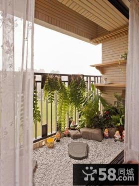 家装小阳台设计效果图片