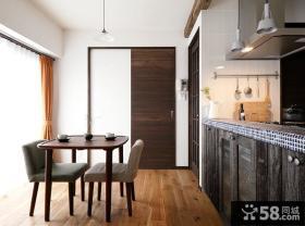 极简日式风格餐厅设计