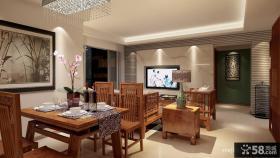客厅餐厅装修效果图大全2013图片