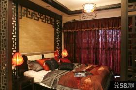 肇庆鸿景观园古典中式风格卧室装修效果图大全2014图片