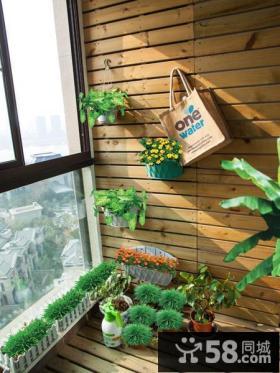 休闲现代小阳台设计装修图片