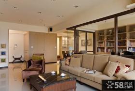 小户型客厅沙发摆放装修效果图欣赏