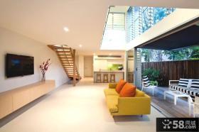简约风格跃层别墅设计图