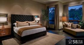 温馨豪华大气的现代风格装修效果图卧室图片