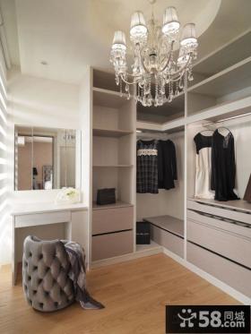 北欧装修时尚衣柜图片