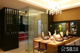 典雅中式餐厅家居设计装修