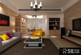 简约风格家庭室内吊顶装修效果图