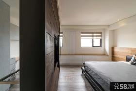 日式家庭设计卧室隔断图片