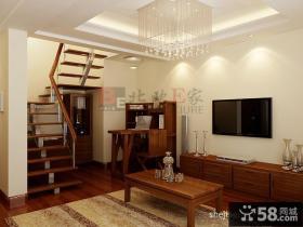 复式客厅装饰图片