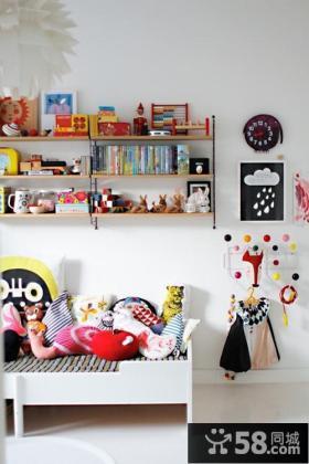 小户型儿童房间装饰图片